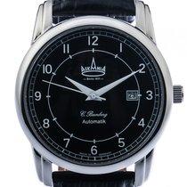 Askania C. Bamberg Steel 42mm Black Arabic numerals