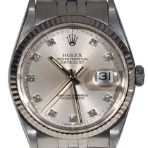 Rolex Datejust Diamond Dial Ref.16234
