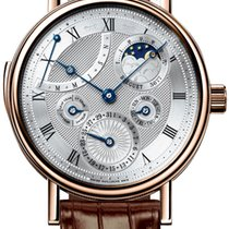 Breguet Classique Complications Rose gold 40mm Silver United States of America, New York, Airmont