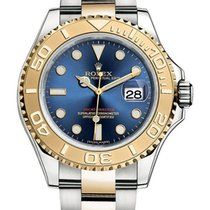 Rolex Yachtmaster Two Tone Blue Dial 16623