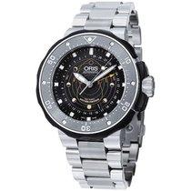 Oris Men's 761 7682 7154-SET Prodiver Turnig The Tide Watch