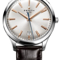 Zenith 03.2020.670/01.C498 Steel 2019 Captain Central Second 40mm new