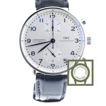 IWC Portugieser Chronograph Automatic Silver Dial NEW
