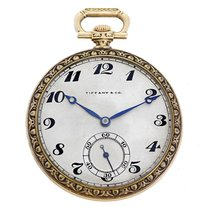 Tiffany & Co.Yellow Gold Pocket Watch