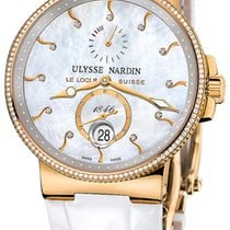 Ulysse Nardin Marine Chronometer 41mm Rose gold 41mm Mother of pearl United States of America, New York, Airmont