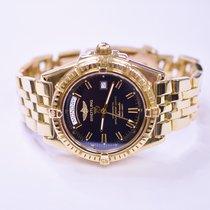 Breitling Headwind 44mm 18K Yellow Gold Mens Watch 0276...