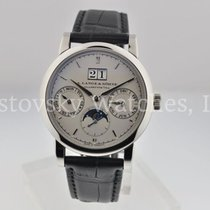 A. Lange & Söhne Platinum Automatic 38.5mm pre-owned Saxonia