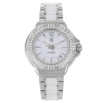 TAG Heuer Formula 1 Lady Steel 36mm White Arabic numerals United States of America, New York, New York