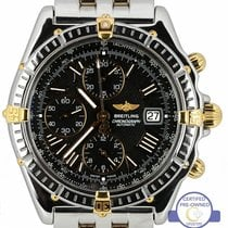 Breitling Crosswind Racing Gold/Steel 42.7mm Black Roman numerals United States of America, New York, Massapequa Park