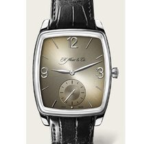H.Moser & Cie. Henry Double Hairspring Oro blanco 38,00mm
