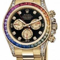Rolex Oyster Perpetual Cosmograph Daytona Rainbow Custom +btc