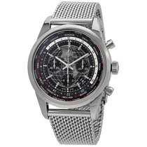 Breitling Transocean Chronograph Unitime AB0510U4/BE84/152A new