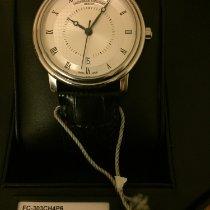 Frederique Constant Classics Automatic pre-owned 40mm White Date Crocodile skin
