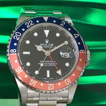 Rolex GMT-Master II 16710 Pepsi unpolished Box/papers &new...