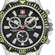 瑞士軍錶 鋼 45mm 石英 06-5305.04.007.06 新的