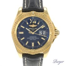 Breitling Cockpit Yellow gold 41mm Black Roman numerals