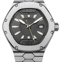 Dietrich Steel Automatic TC-1 STAINLESS STEEL GREY new
