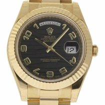 Rolex Day-Date II Yellow gold 41mm Black United States of America, Florida, 33132