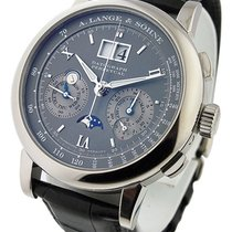 A. Lange & Söhne White gold 41mm Manual winding 410.030 pre-owned