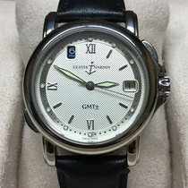 Ulysse Nardin pre-owned Automatic 35mm Silver Sapphire Glass