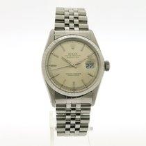 Rolex Datejust Stahl 36mm Silber Keine Ziffern Schweiz, Genève