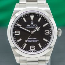 Rolex Explorer Steel 39mm Black Arabic numerals United States of America, Massachusetts, Boston