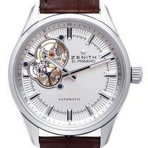 Zenith El Primero Synopsis Acero 40mm Plata