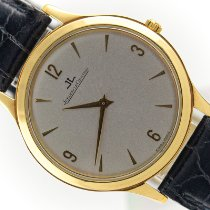 Jaeger-LeCoultre Yellow gold Manual winding 34mm pre-owned Master Ultra Thin