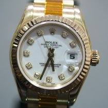 Rolex 179178 Or jaune 2005 Lady-Datejust 26mm occasion