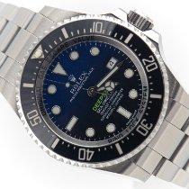Rolex Sea-Dweller Deepsea Stal 44mm Niebieski Bez cyfr Polska, Kraków