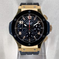 Hublot Yellow gold Automatic 44mm pre-owned Big Bang 44 mm