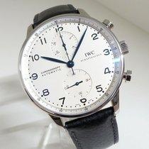 IWC Portuguese Chronograph 3714 Very good Steel 41mm Chronograph