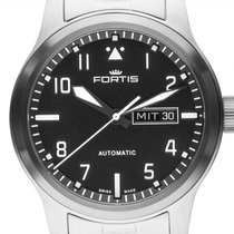 Fortis Steel Automatic 655.10.10 M new