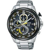 Pulsar Uhren Herrenuhr Solar Chronograph PZ6003X1