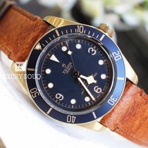 帝陀 Heritage Black Bay Bronze Blue for Bucherer
