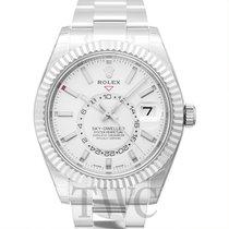Rolex Sky-Dweller Or blanc 42.00mm Blanc