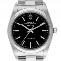 Rolex Air King Stahl Automatik Armband Oyster 34mm Ref.14010...