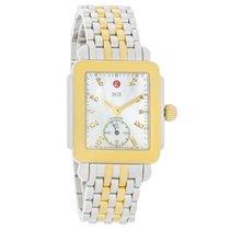 Michele Deco 16 Series Diamond TwoTone Swiss Quartz Watch...