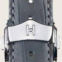 Hirsch Parts/Accessories Men's watch/Unisex 201411117418 new Leather Grey