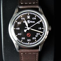 Bell & Ross BR V1 BRV192-MIL-ST/SCA New Steel 38,5mm Automatic