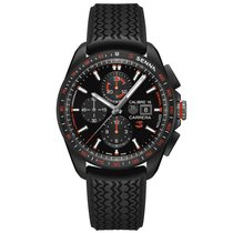 TAG Heuer Carrera 43mm Chrono Date Automatic Mens Watch...