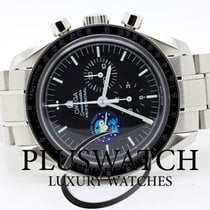 Omega 42mm Manual winding 2003 pre-owned Speedmaster Professional Moonwatch Black