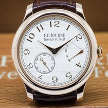 F.P.Journe Chronometre Souverain Red Gold / Silver Dial 40MM...