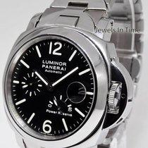 Panerai Luminor PAM 90 Power Reserve Steel Automatic Watch On...