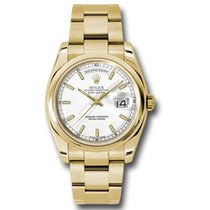 Rolex Day-Date 36 Geelgoud 36mm Wit