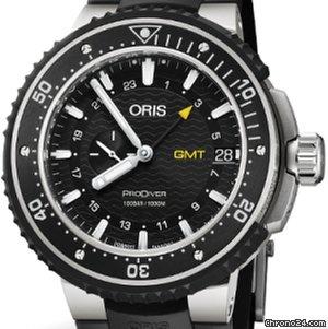 Oris ProDiver GMT 01 748 7748 7154-07 4 26 74TEB new