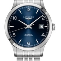 Longines Record Steel 40mm Blue Arabic numerals United States of America, Florida, Tarpon Springs