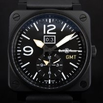 Bell & Ross BR 03-51 GMT new Automatic Watch with original box and original papers BR0351-GMT-CA