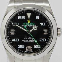 Rolex Air King neu 2016 Automatik Uhr mit Original-Box und Original-Papieren 116900