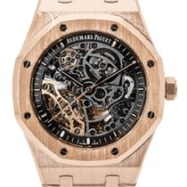 Audemars Piguet Royal Oak Double Balance Wheel Openworked new 2019 Automatic Watch with original box and original papers 15407OR.OO.1220OR.01